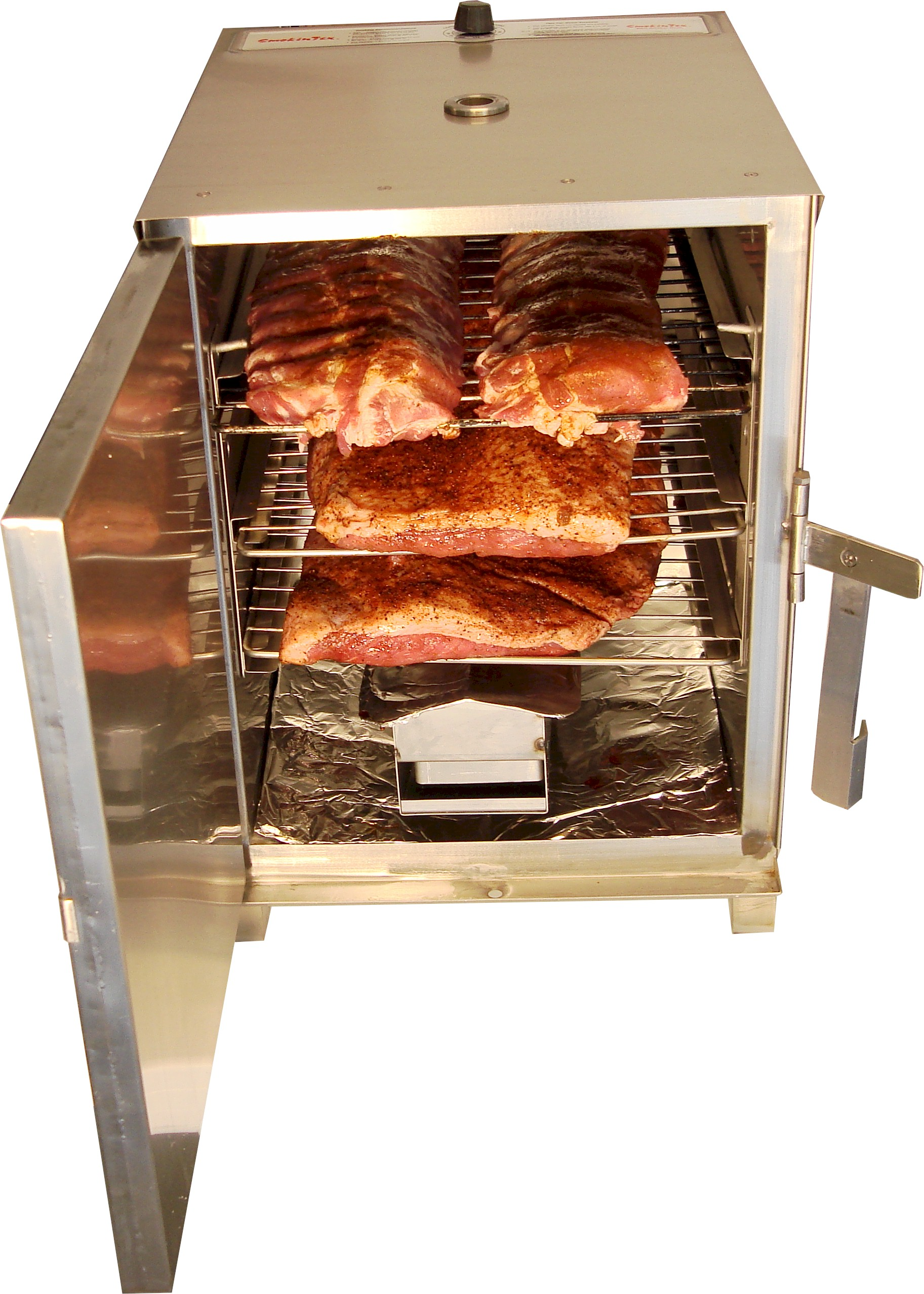 SmokinTex BBQ Electric Meat Smoker Model 1100