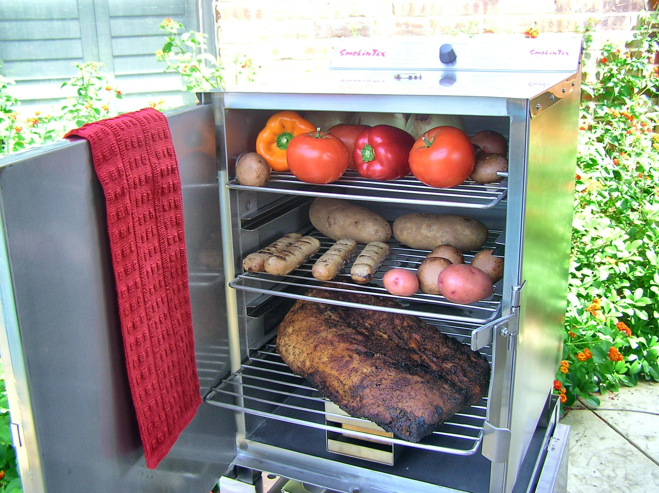 SmokinTex Electric BBQ Smoker model 1400